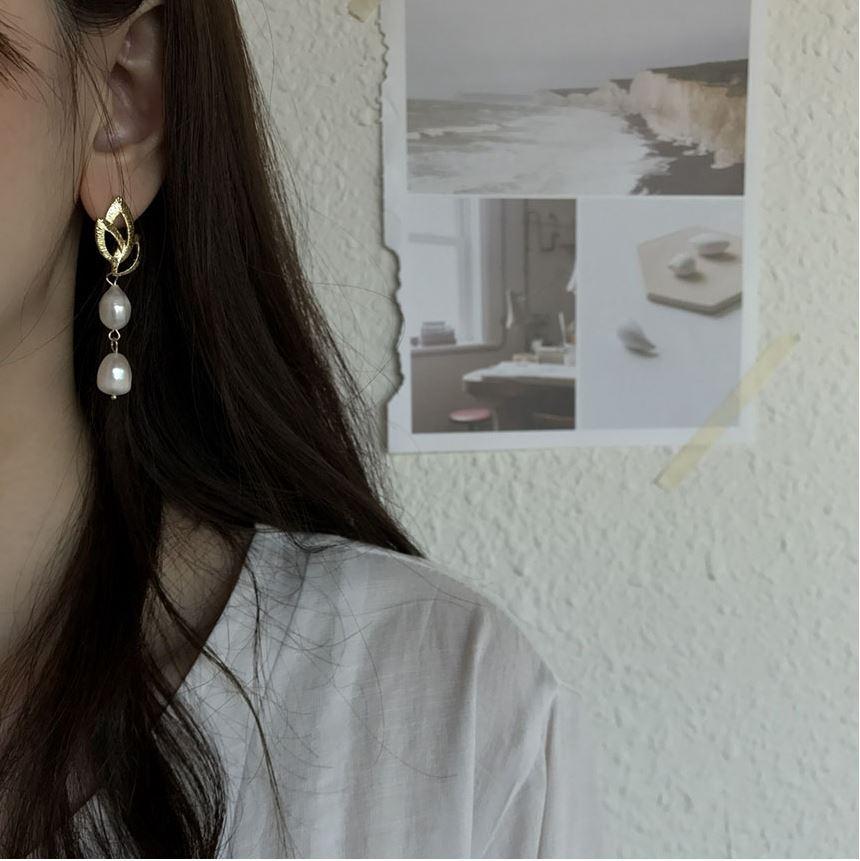 Straw Earrings