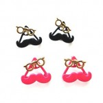 Mustache & Glasses Earrings