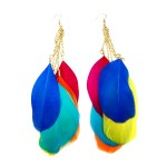 Exotica Feather Earrings