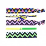 Hair Ties/ Bracelets- Color Prints