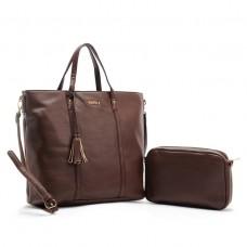 Bissú Leather Tote Bag Set