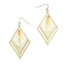 Rhombus Thread Earrings