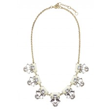 Floral Ivory Necklace