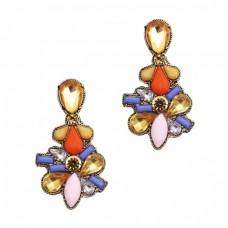 Colorful Maharaja Earrings