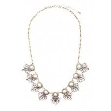 Orah Pearl Crystal Necklace