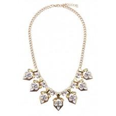 Frosty Crystal Necklace