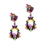 Marquis Multi-colour Earrings