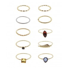 10 x Ndiganu Stack Rings