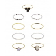 9 x Justfab Ring Nine Alive