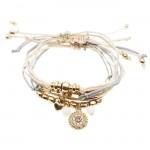 6 x Iris Friendship Bracelet