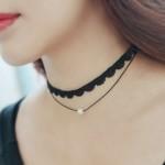 Black Swan Choker Necklace