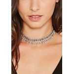 Etched Beaded Choker