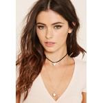 Black Geo Charm Layered Necklace