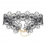 Filigree Floral Lace Choker