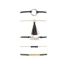 5 x Love Bracelet Set