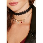 2 x Crochet Chokers and Charms