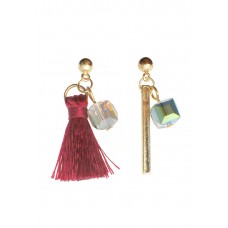 Tassel Mismatched Earrings