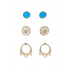 3 x Desiree Earrings Set