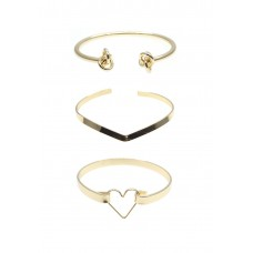 3 x Assorted Heart Cuff