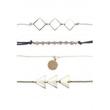 4 x Geometric Bracelet Pack