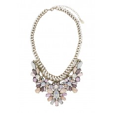 Ariana Pastel Statement Necklace
