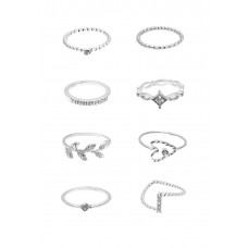 8 x Assorted Ring Set