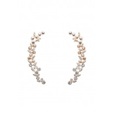 Maxazria Crystal Ear Cuff