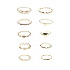 10 x Michel Mix Ring Set