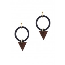 Hastings Wooden Earrings