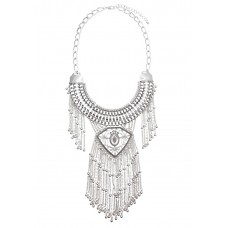 All Fleur You Statement Necklace
