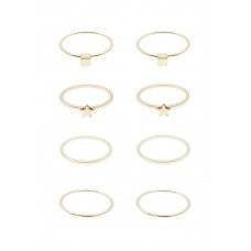 8 x Shashi Ring Set