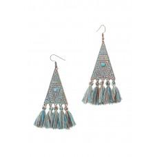 Aztec Tassel Earrings