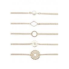 5 x Sunburst Beaded Bracelet Set