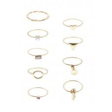9 x Mataya Mix Ring Set