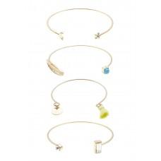 4 x Assorted Cuff Bracelets