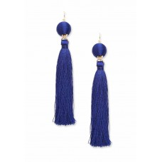 Bauble & Tassel Drop Earrings