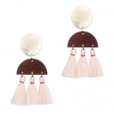 Lual Tassel Earrings