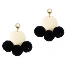 Tanya Pom Pom Earrings