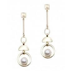 Chloé Geometric Pearl Earrings
