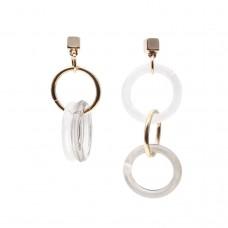 Mismatch Resin Earrings