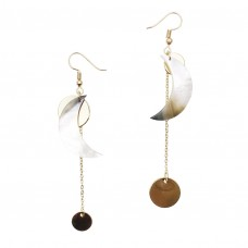 Mariachi Crescent Drop Earrings