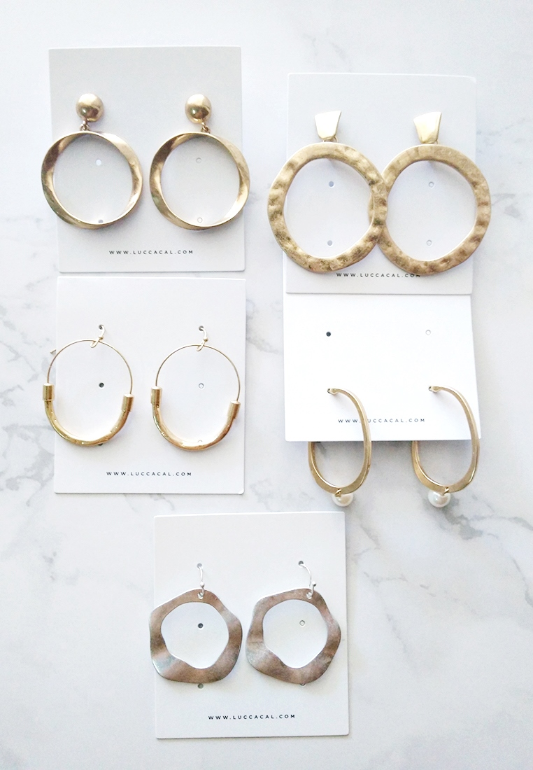 Ravioli Hoop Earrings