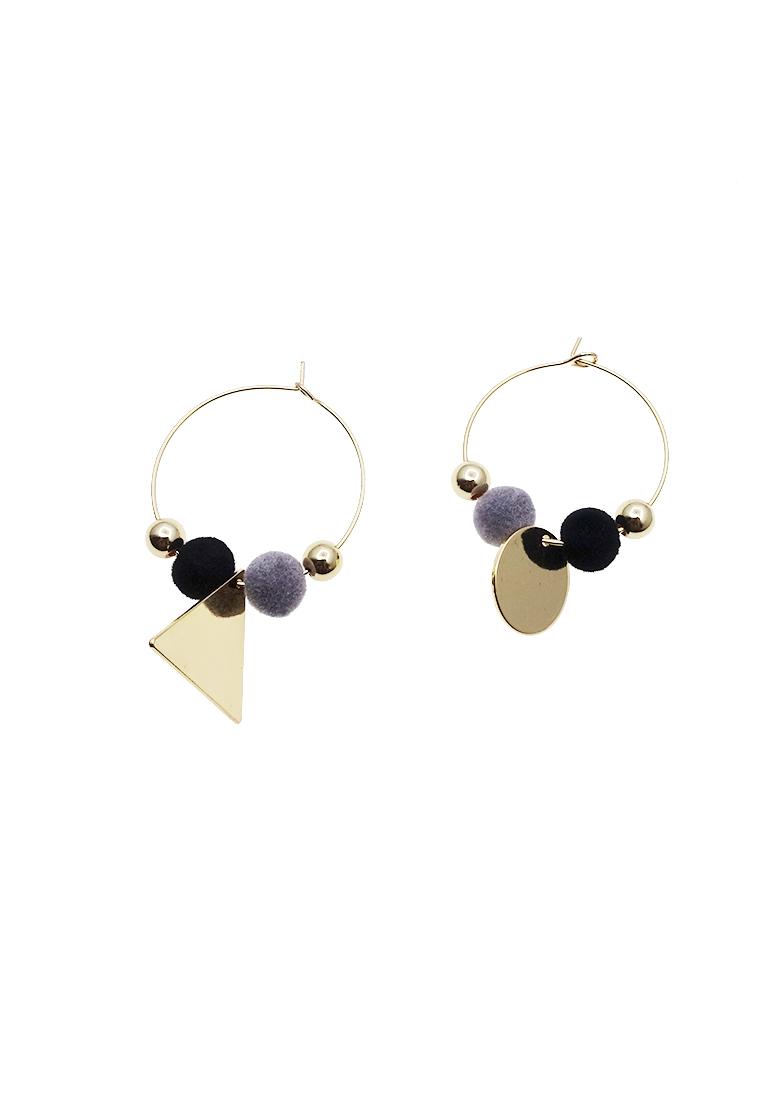 Beads Hoop Earrings