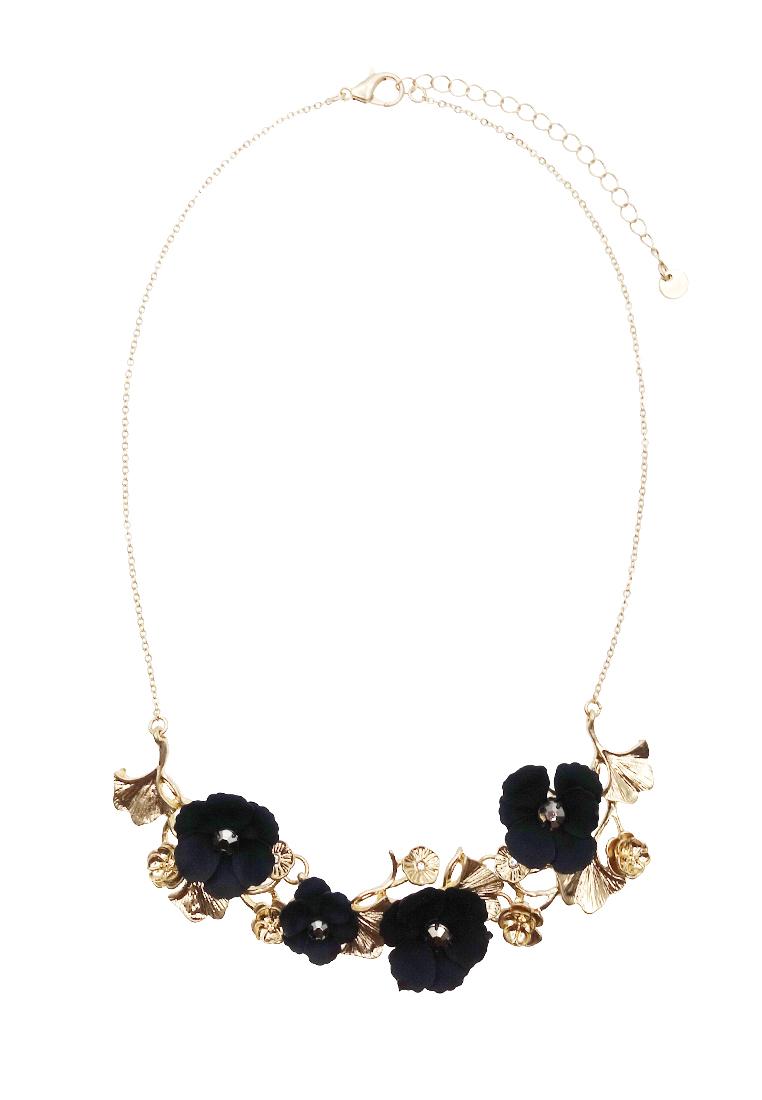 Gingko Flower Petite Necklace
