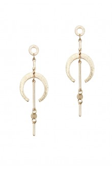 Gennyfer Geo Drop Earrings
