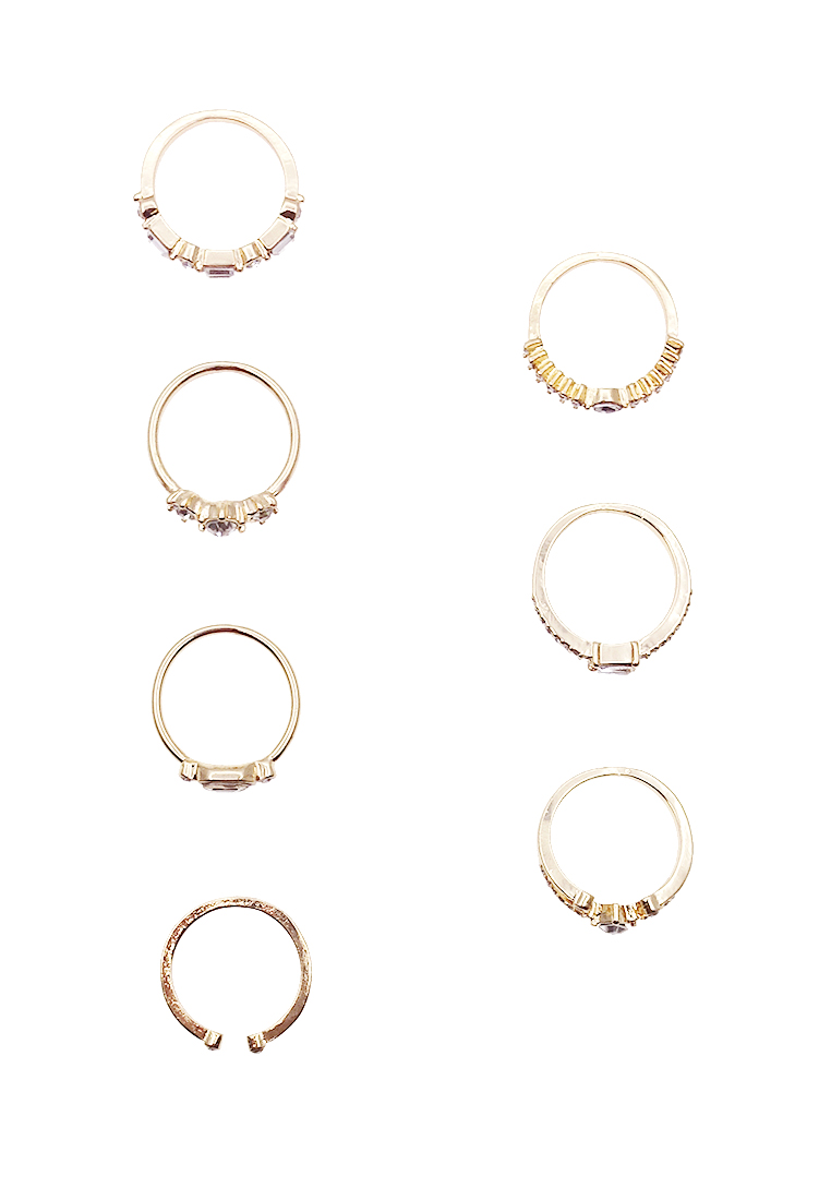 7 x Bralevia Ring Set