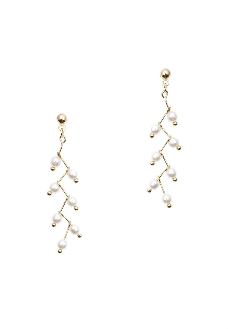 Mini Pearl Dangle Earrings