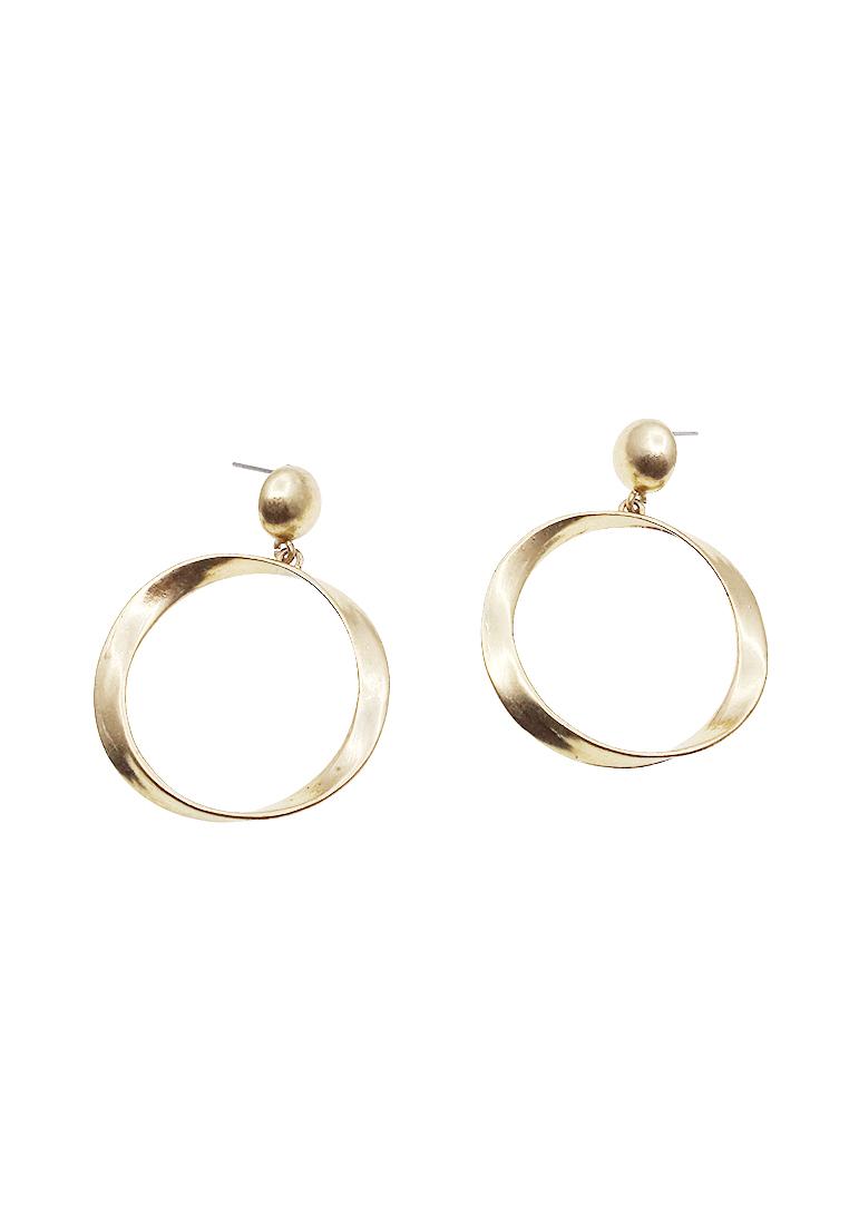 Hamlet Hoop Drop Earrings