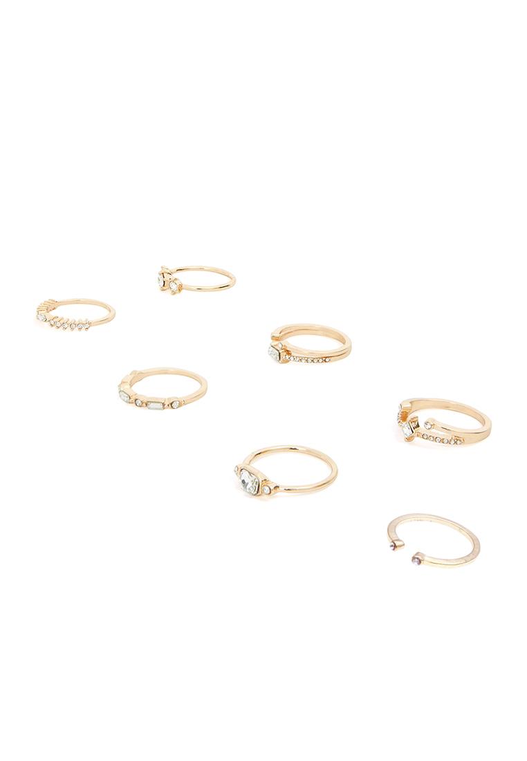 7 x Bralevia Ring Set