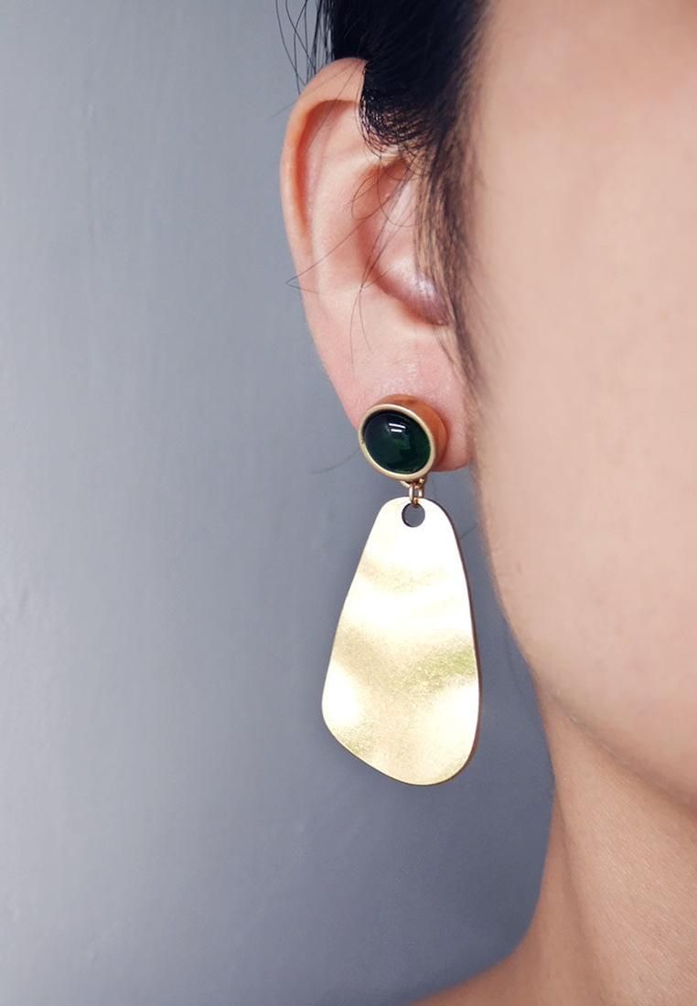 Soleil Sculptural Drop Earrings